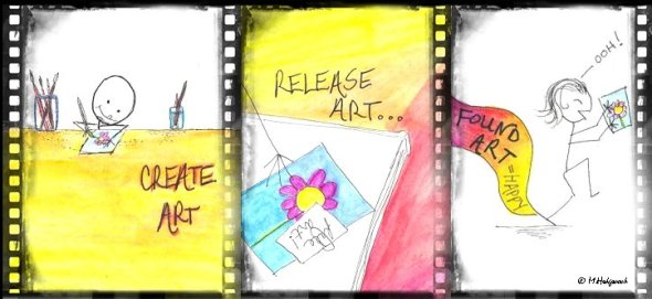 creative release page banner
