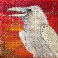 """Spirit Raven At Dusk"" by Michelle Hedgecock"