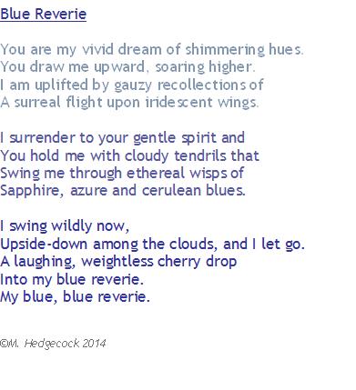 blue reverie